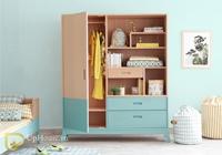 tủ quần áo cho trẻ em bằng gỗ