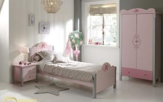 mẫu giường ngủ gỗ đẹp cho bé U10