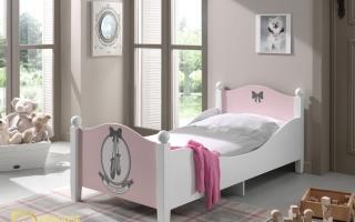 mẫu giường ngủ gỗ đẹp cho bé U15