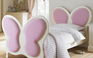 mẫu giường ngủ gỗ đẹp cho bé U19