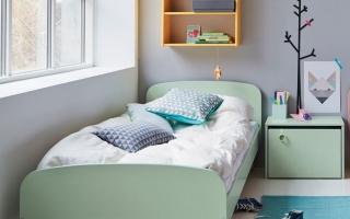 mẫu giường ngủ gỗ đẹp cho bé U25