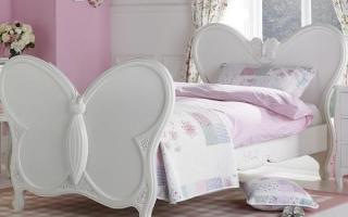 mẫu giường ngủ gỗ đẹp cho bé U30