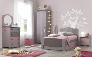 mẫu giường ngủ gỗ đẹp cho bé U39
