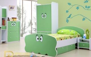 mẫu giường ngủ gỗ đẹp cho bé U4