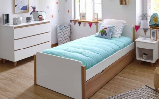 mẫu giường ngủ gỗ đẹp cho bé U43