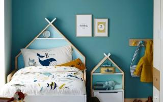 mẫu giường ngủ gỗ đẹp cho bé U6