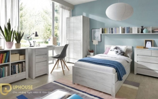 mẫu giường ngủ gỗ đẹp cho bé U63