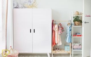 Tủ quần áo trẻ em bằng gỗ U46
