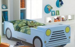 giường ngủ xe hơi cho bé U26