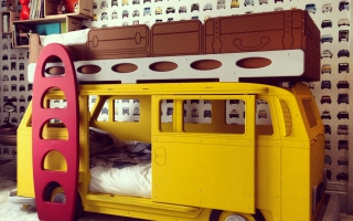 giường ngủ xe hơi cho bé U7