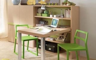mẫu bàn học gỗ đẹp cho bé U46