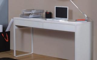 mẫu bàn học gỗ đẹp cho bé U48