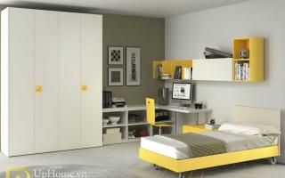 mẫu giường ngủ gỗ đẹp cho bé U1