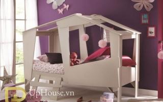 mẫu giường ngủ gỗ đẹp cho bé U8a
