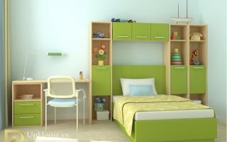 mẫu giường ngủ gỗ đẹp cho bé U2