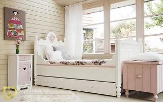 mẫu giường ngủ gỗ đẹp cho bé U23