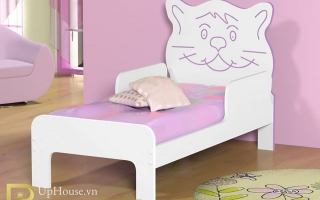 mẫu giường ngủ gỗ đẹp cho bé U34