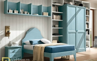 mẫu giường ngủ gỗ đẹp cho bé U38