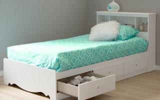 mẫu giường  ngủ gỗ đẹp cho bé U44