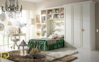 mẫu giường ngủ gỗ đẹp cho bé U52