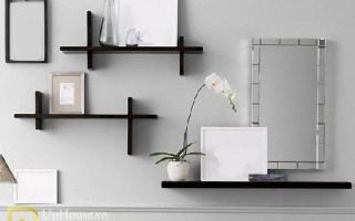 Mẫu tủ kệ gỗ trang trí đẹp U106