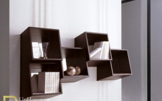 Mẫu tủ kệ gỗ trang trí đẹp U27