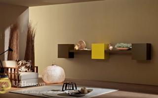 Mẫu tủ kệ gỗ trang trí đẹp U82