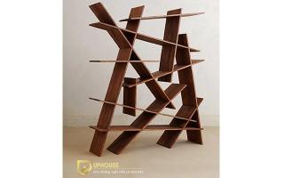 Mẫu tủ kệ gỗ trang trí đẹp U1
