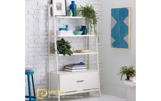 Mẫu tủ kệ gỗ trang trí đẹp U107