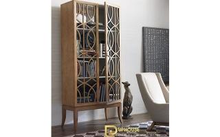 Mẫu tủ kệ gỗ trang trí đẹp U47