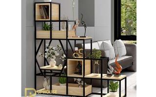 Mẫu tủ kệ gỗ trang trí đẹp U86