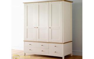 Mẫu tủ quần áo gỗ đẹp U39