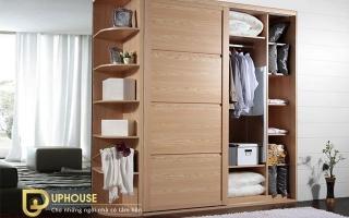 Mẫu tủ quần áo gỗ đẹp U44