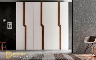 Mẫu tủ quần áo gỗ đẹp U46