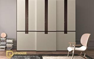 Mẫu tủ quần áo gỗ đẹp U49