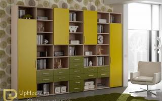 Tủ kệ giá sách gỗ đẹp U10