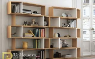 Tủ kệ giá sách gỗ đẹp U14