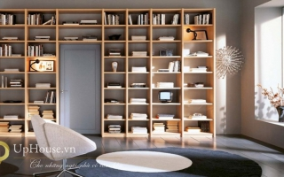 Tủ kệ giá sách gỗ đẹp U3