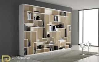 Tủ kệ giá sách gỗ đẹp U4