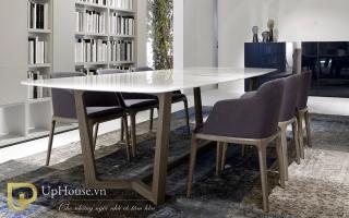 Bộ bàn ăn gỗ đẹp U24