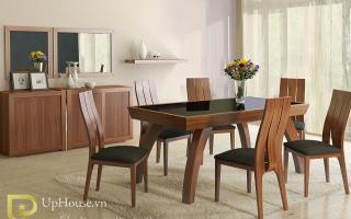 Bộ bàn ăn gỗ đẹp U27