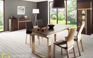 Bộ bàn ăn gỗ đẹp U8