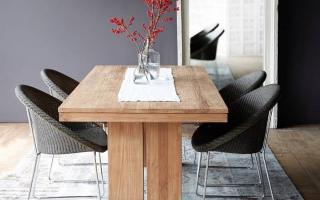 Bộ bàn ăn gỗ đẹp U14