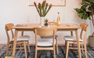 Bộ bàn ăn gỗ đẹp U23