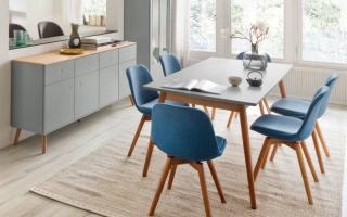Bộ bàn ăn gỗ đẹp U4