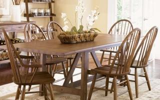 Bộ bàn ăn gỗ đẹp U5