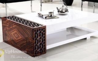 Mẫu bàn uống trà gỗ đẹp U59