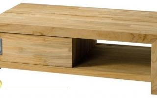 Mẫu bàn uống trà gỗ đẹp U61
