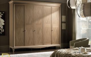 Mẫu tủ quần áo gỗ đẹp U33
