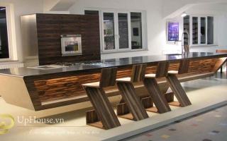 Mẫu tủ quầy bar gỗ đẹp U5